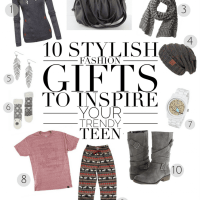 10 Stylish Fashion Gifts to Inspire Your Trendy Teen