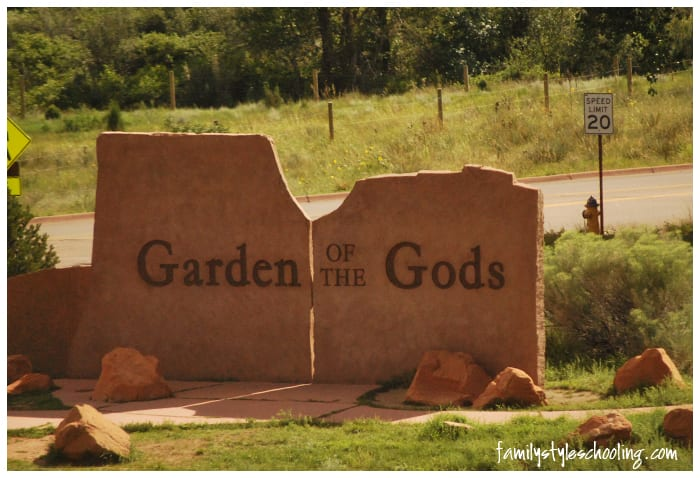 Vacation Quick Stops that I'd Love to Return to:  Garden of the Gods