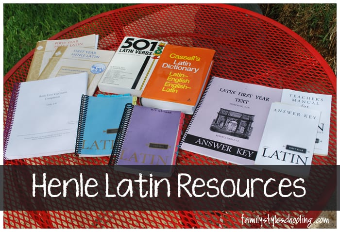 Henle Latin Resources