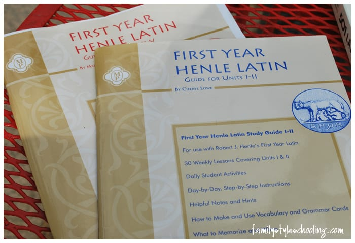 Henle Latin Study Guide