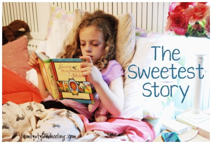 Strengthening the Faith of my Children with The Jesus Storybook Bible