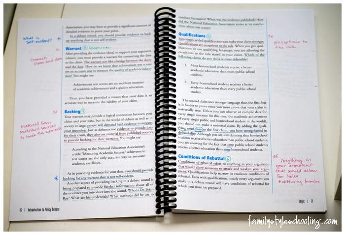 highlighting policy debate book