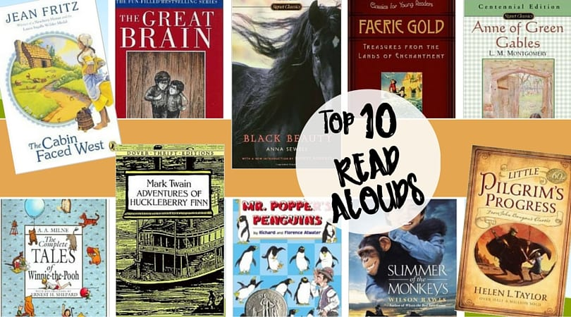 What's On My Bookshelf:  Top 10 Read Alouds