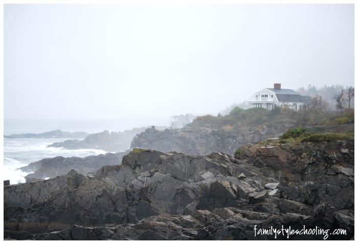 Maine coastal home
