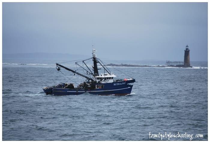 Maine tugboat