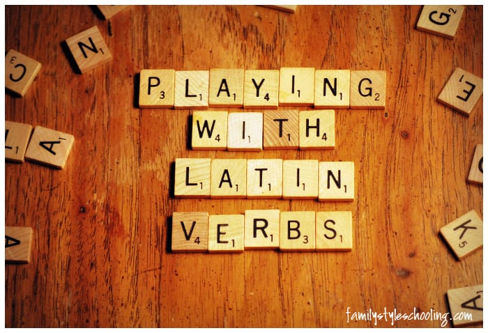 Playing With Latin Verbs
