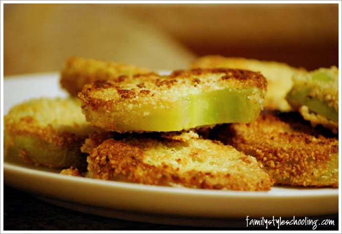 fried green tomatoes first bite