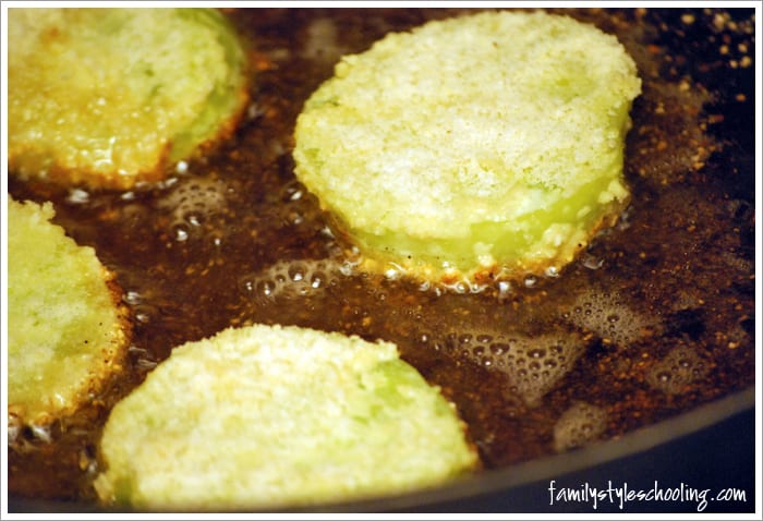 fried green tomatoes side one