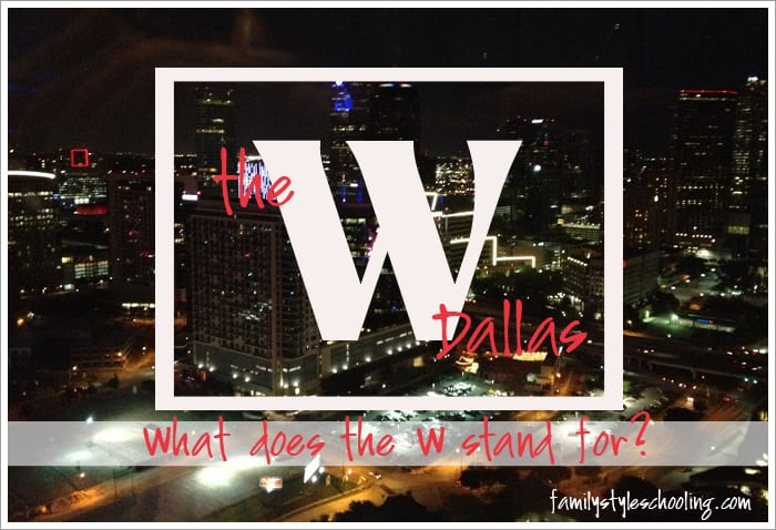 """The W Dallas…What does the """"W"""" stand for?"""