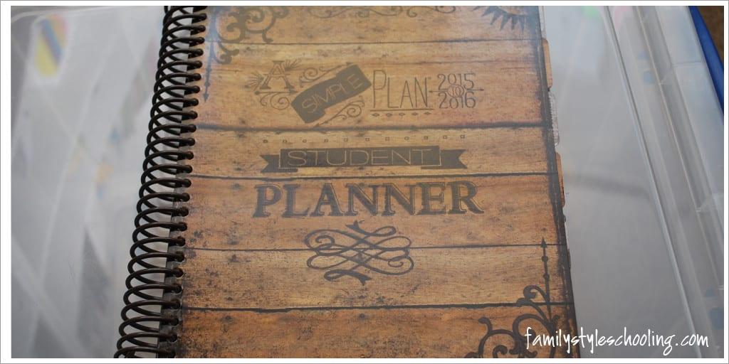 A simple plan planner