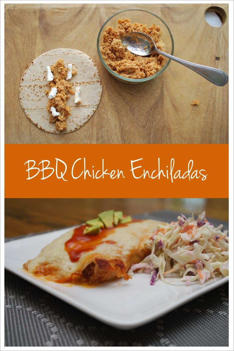 BBQ Chicken Enchilada recipe