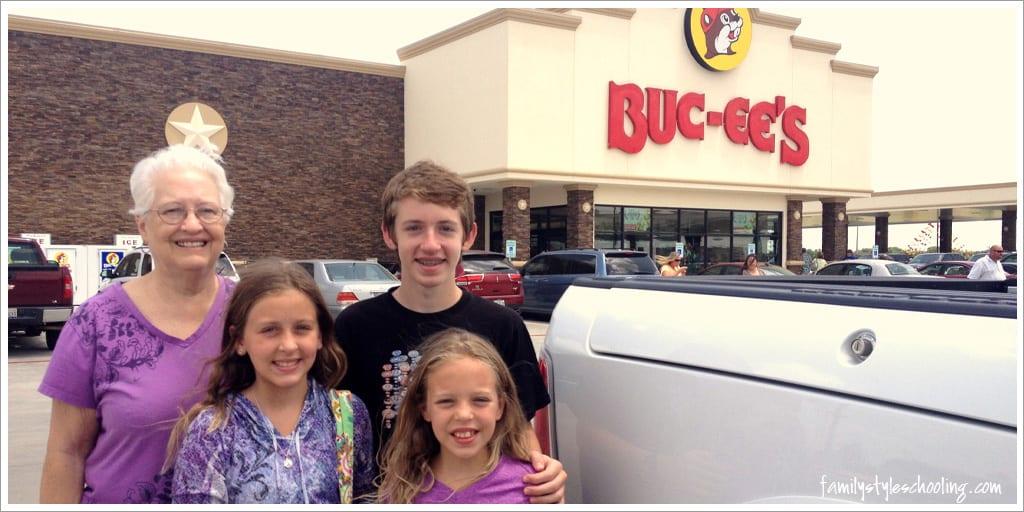 Look What's New in Terrell, TX:  Buc-ee's