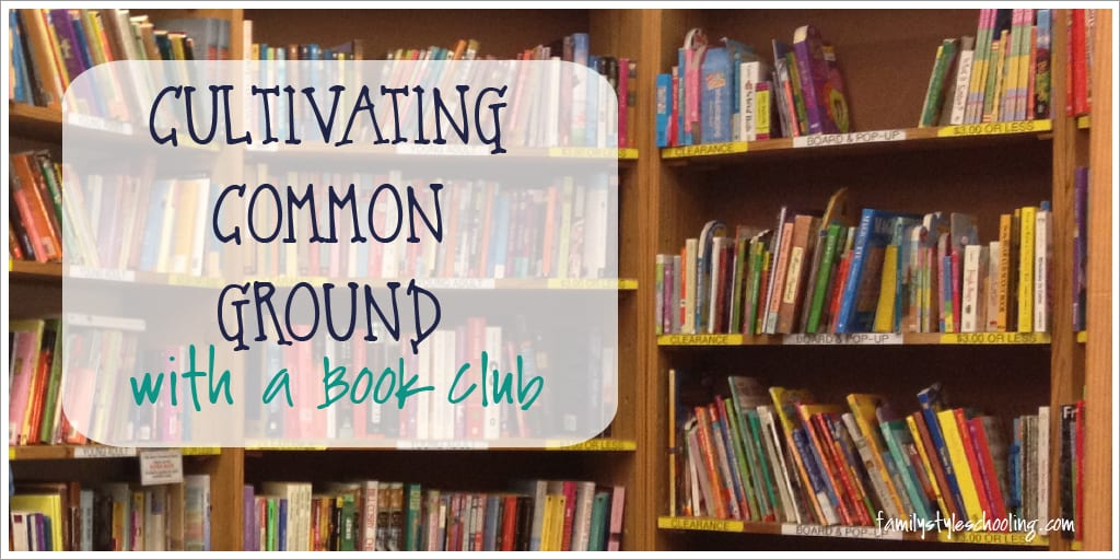 Cultivating Common Ground with a Book Club