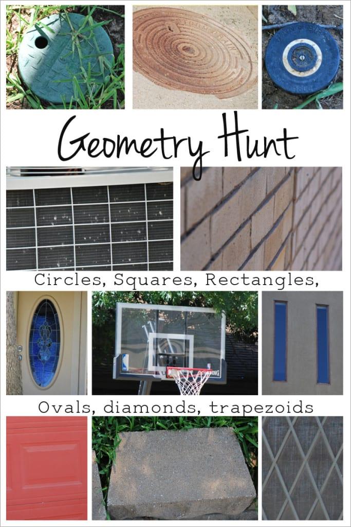 Geometry hunt taking math outside