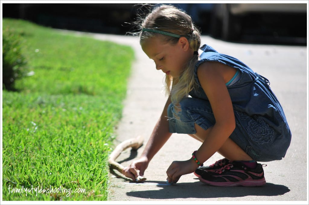 Measuring with a stick outside math