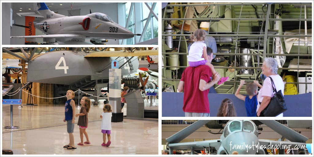 National Naval Aviation Museum exhibitis