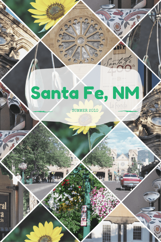 Santa Fe, NM is a historic and artsy travel destination