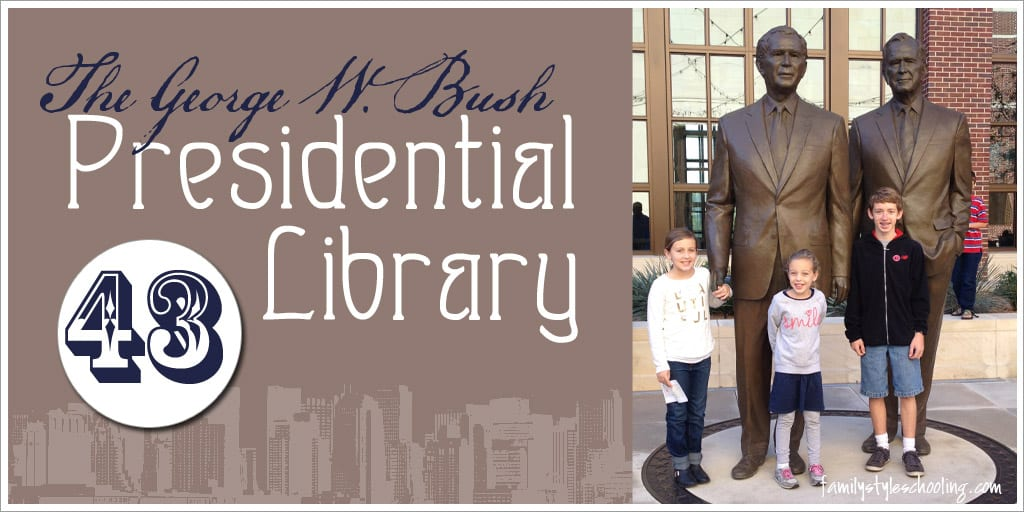 Visiting the George W Bush Presidential Library