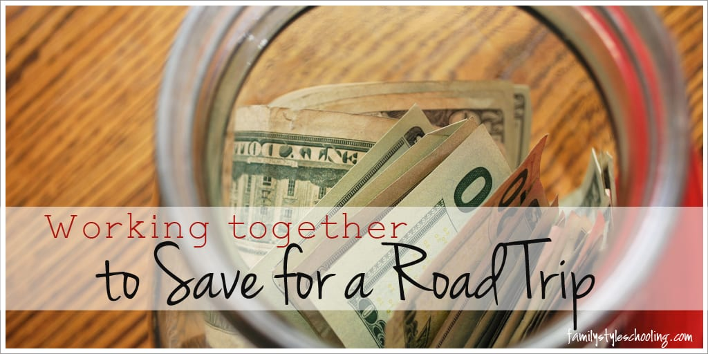 Working Together to Save for a Road Trip