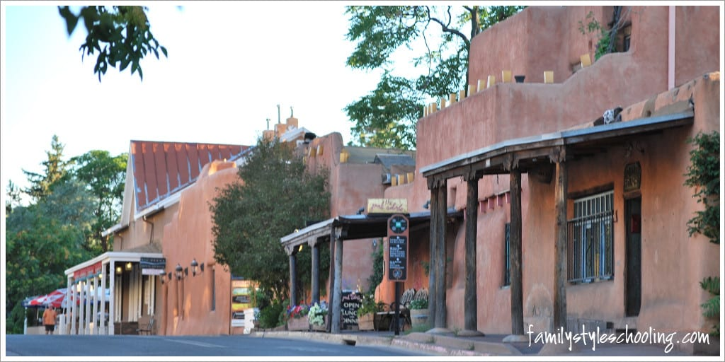 adobe buildings Santa Fe, NM