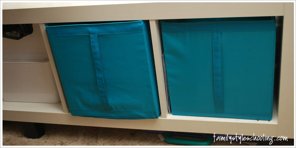 school room storage must haves more baskets