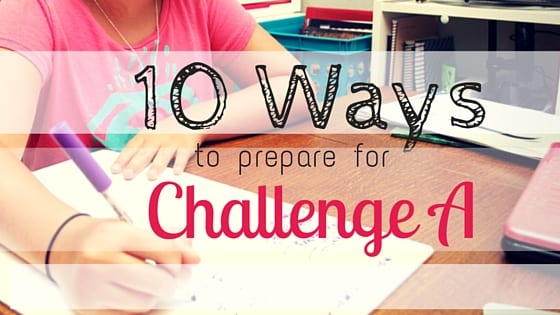 Preparing for Challenge A
