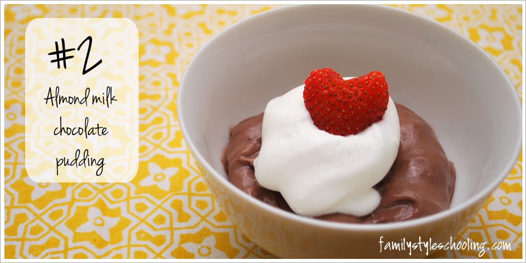 #2 Almond Milk Chocolate Pudding