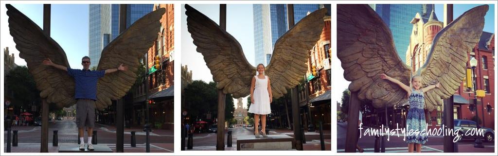 sundance square angel wings