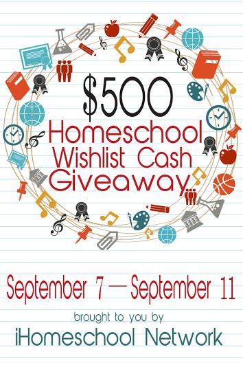 $500 iHomeschool Cash Giveaway