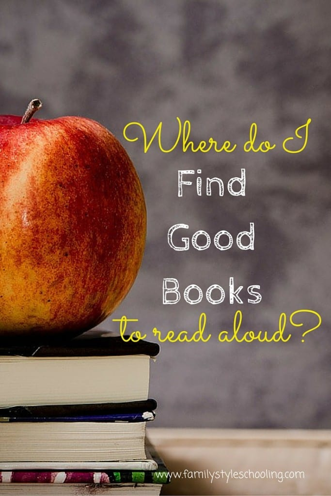 Where do I find good books to read aloud?