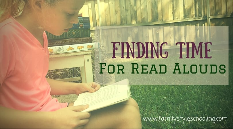 Finding Time for Read Alouds