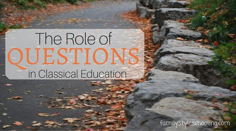 Questions in Classical Education