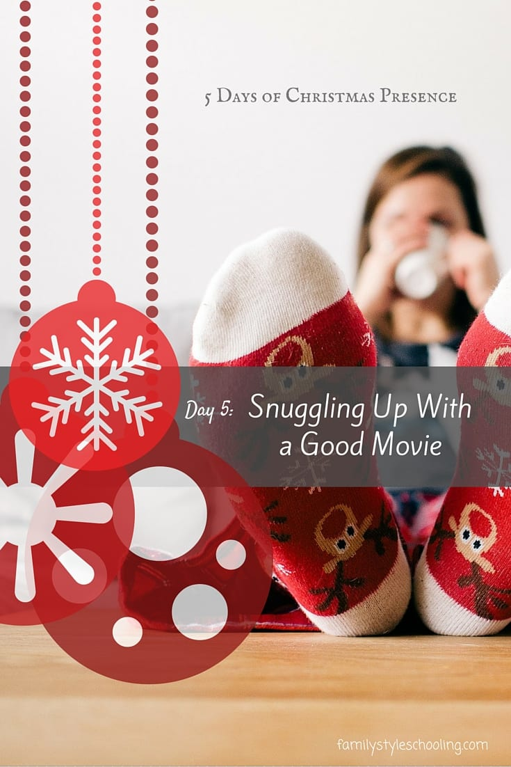 Christmas Presence Movie.5 Days Of Christmas Snuggling Up With A Good Movie Family