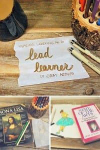 Inspiring learners by becoming a lead learner of great artists
