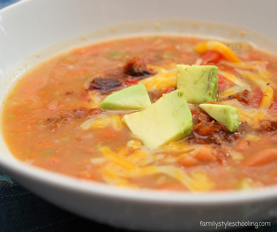 Thick and Zesty Pinto Bean Soup that's Super Simple to Make