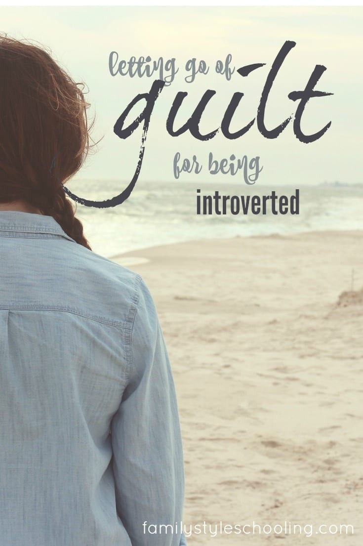 As and introvert I often feel guilty for needing alone time