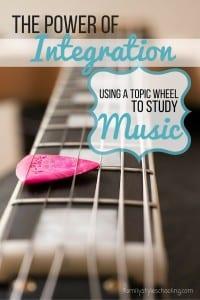 Music Topic Wheel