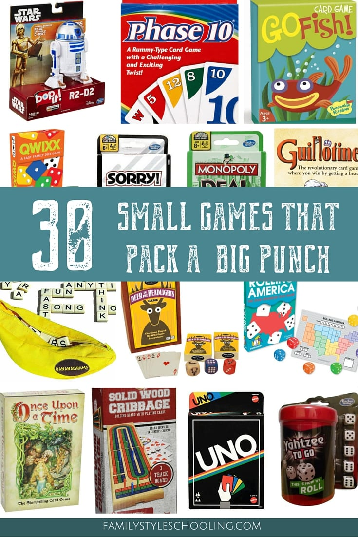 30 Small Games that Pack a Big Punch