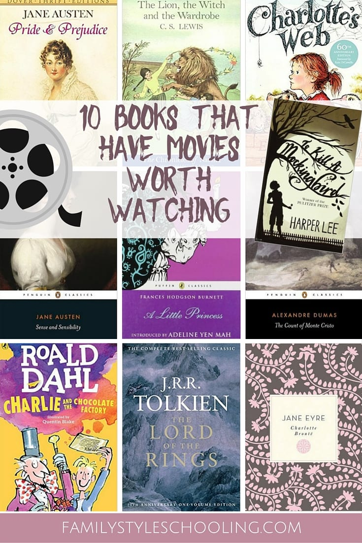 books with good movies
