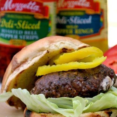 Summer BBQ Tips for Mediterranean Stuffed Burgers