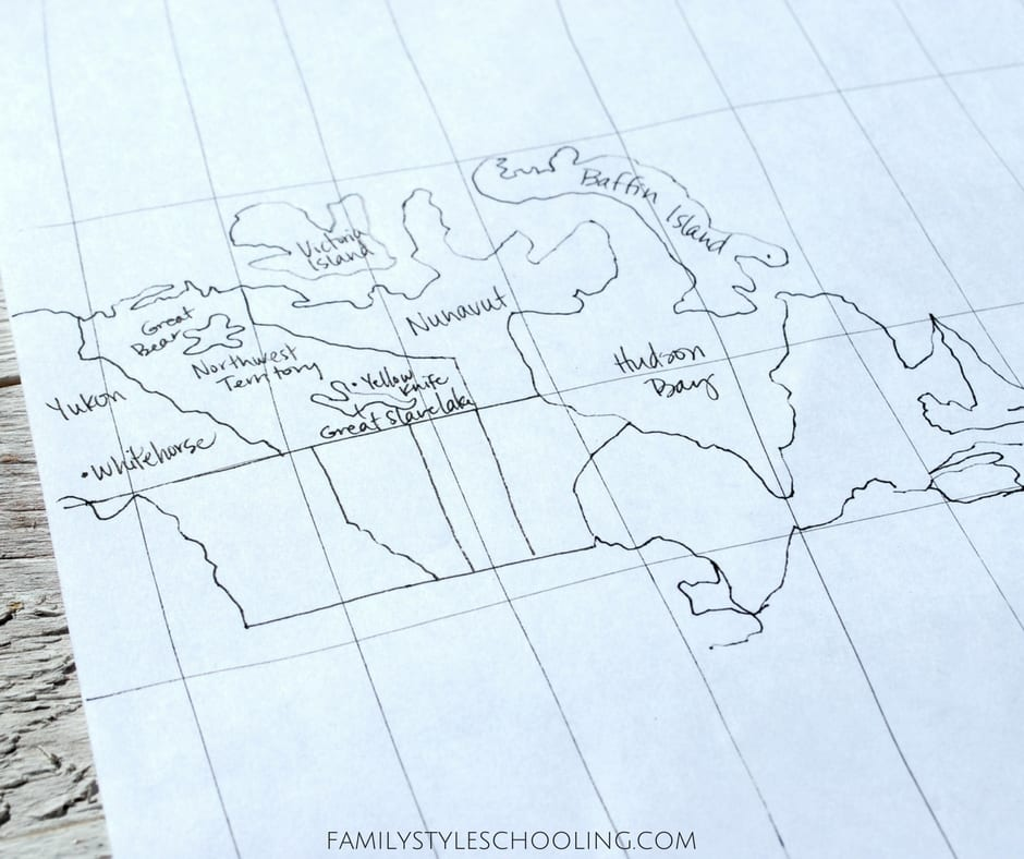 7 Tips for Learning to Draw the World - Family Style Schooling