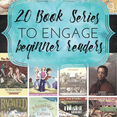 20 Terrific Book Series to Engage Beginner Readers