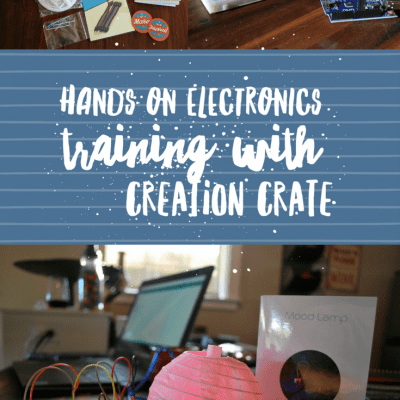 Hands on Electronics Training with Creation Crate