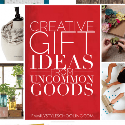 Creative Gift Ideas From Uncommon Goods