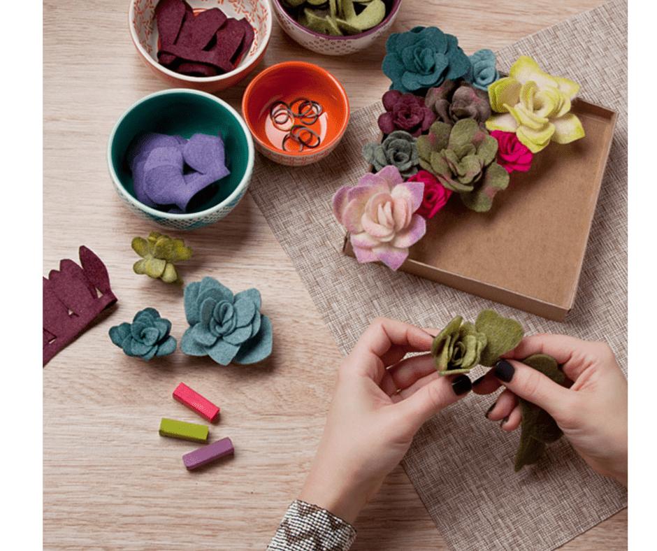 Felt Succulent's Kit