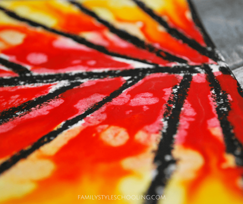 10 Fantastic Abstract Art Projects For Fall Family Style
