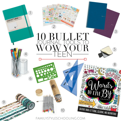 10 Bullet Journal Tools to Wow Your Teen