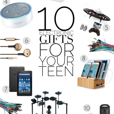 10 Electronic Gifts for Your Teen