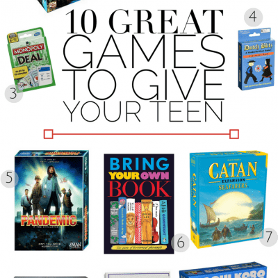 10 Great Games to Give Your Teen