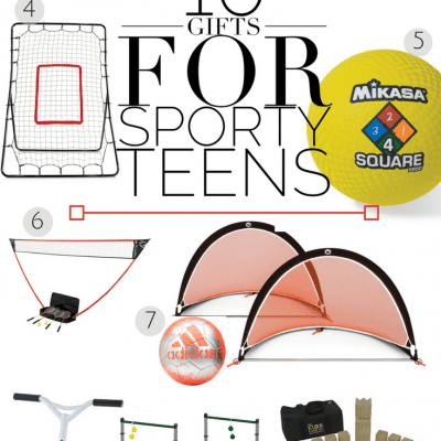 10 Gifts for Sporty Teens